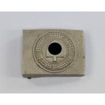 Reichsarbeitsdienst (RAD), Koppelschloß für Mannschaften, Aluminium