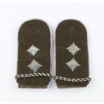 Reichsarbeitsdienst (RAD) Paar Schulterklappen Hauptvormann