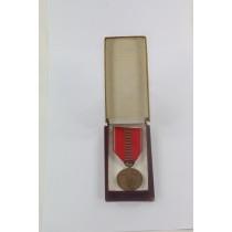Rumänien, Medaille Kreuzzug gegen den Kommunismus - Romania Recunoscatoare, im Etui