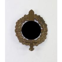 SA-Wehrabzeichen in Bronze, Hst. Sieper & Söhne