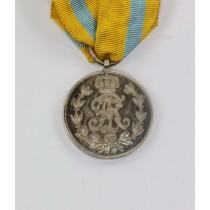 Sachsen, Friedrich August Medaille in Silber