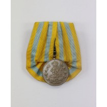 Sachsen, Friedrich August Medaille in Silber, an Einzelspange