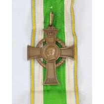 Sachsen, Kriegsverdienstkreuz Bronze 1915, Hst. S