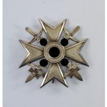 Spanienkreuz in Silber mit Schwertern, Hst. CEJ 900