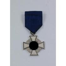 Treudienstehrenzeichen in Silber (25 Jahre) Für treue Dienste