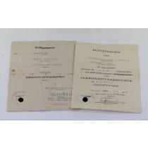 Urkunden Gruppe, Sturm-Bataillon Armee Ober Kommando 2 (A.O.K.2)