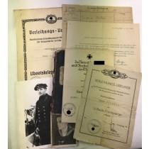 Urkunden Gruppe U-Boot