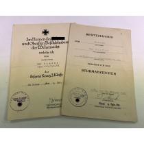 Urkunden Landungs-Pionier-Bataillion