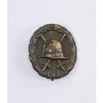 Verwundetenabzeichen in Schwarz 1918, Silber (800)