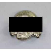 Waffen-SS, Totenkopf für die Schirmmütze, Hst, RZM 499/41, Cupal (!)