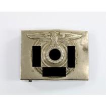 Waffen SS, Koppelschloss für Mannschaften, Hst. Overhoff & Cie, Lüdenscheid (Full Motto)
