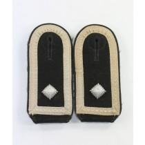 Waffen SS, Paar Schulterklappen Oberscharführer Pionier