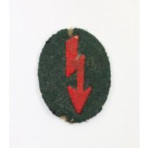 Wehrmacht Heer, Ärmelabzeichen Funker Artillerie