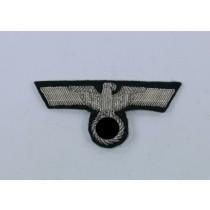 Wehrmacht Heer, Schirmmützenadler für Offiziere (handgestickt)