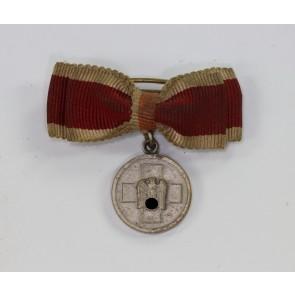 16 MM Miniatur Medaille für Deutsche Volkspflege, an Schleife