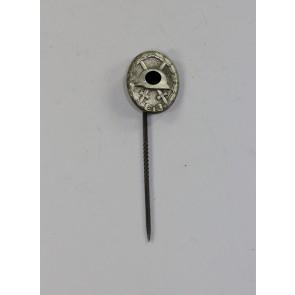 16-MM Miniatur Verwundetenabzeichen in Silber, Hst. L/11