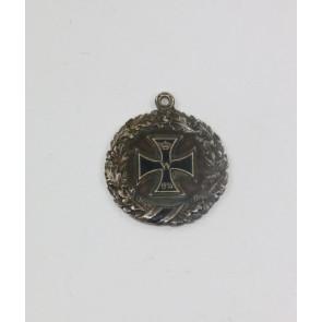 1. Weltkrieg, patriotischer Anhänger Eisernes Kreuz
