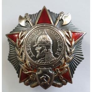 Sowjetunion, Alexander Nevsky Orden, mit Archiv Material + Recherche