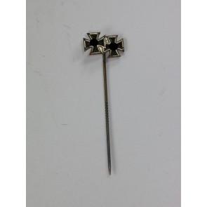 9 MM Miniatur Eisernes Kreuz 1. und 2. Klasse 1939, Hst. L/57