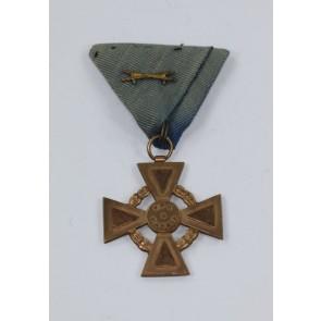 """Österreich, Ehrenzeichen der Ehrenlegion 1914-1918 """"Pro Patria"""" mit Schwertern"""