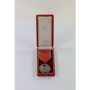 Anschlußmedaille Österreich (13. März 1938), im Etui