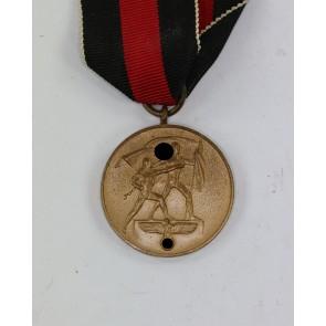 Anschlußmedaille Sudetenland (1. Oktober 1938)