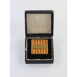 Baden (Freistaat), Ehrenzeichen für Mitglieder der freiwilligen Feuerwehr für 25 Jahre, im Etui