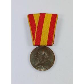 Baden, Regierungsjubiläumsmedaille 1902 an Einzelspange - 1852 1902 Regierungsjubiläum S.K.H. des Grosherzogs Friedrich von Baden