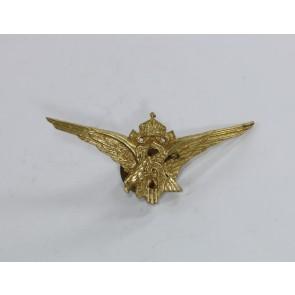Bulgarien, Flugzeugführerabzeichen an Schraubscheibe (2. Weltkrieg)