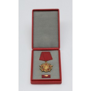 DDR, Karl Marx Orden, Gold 900, im Etui