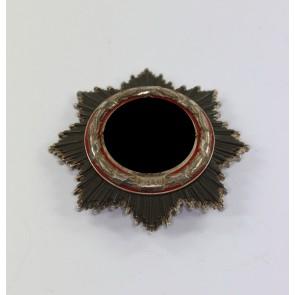 Deutsches Kreuz in Silber, Deschler (schwer), kurze Nadel, 6 Nieten
