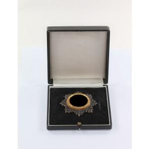 Deutsches Kreuz in Gold, Hst. 1 (schwer), im Etui