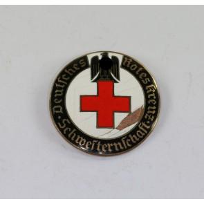 Deutsches Rotes Kreuz (DRK), Brosche Schwesternschaft, Schwestern für über See (!), 42 mm