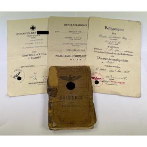 Dokumentennachlass Gebirgesjäger - Endkampf 1945