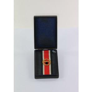 Ehrenblattspange der Luftwaffe, im Etui