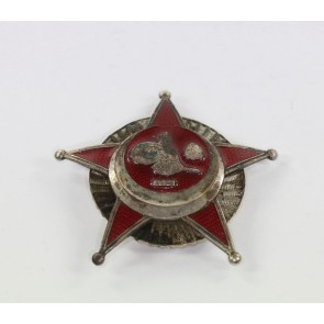 Eisernes Halbmond (Stern von Gallipoli), an Schraubscheibe, Wilhelm Deumer
