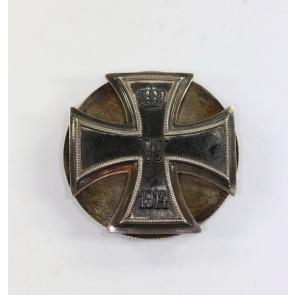 Eisernes Kreuz 1. Klasse 1914, Hst. Hansen 800, an Schraubscheibe