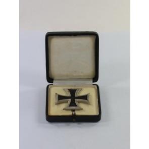 Eisernes Kreuz 1. Klasse 1914, in der Form von 1939, Deumer, im Etui
