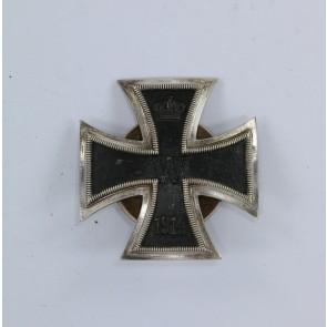 Eisernes Kreuz 1. Klasse 1914, in der Form von 1939, Hst. L/15, an Schraubscheibe