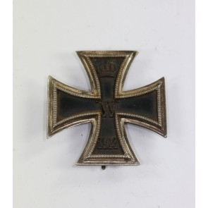 Eisernes Kreuz 1. Klasse 1914, Kürass Variante (!), Hst. Godet Berlin