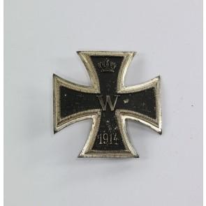 Eisernes Kreuz 1. Klasse 1914, Petz & Lorenz, kurzer Nadel, nicht magnetisch