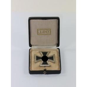 Eisernes Kreuz 1. Klasse 1939, Hst. L/57, im LDO Etui