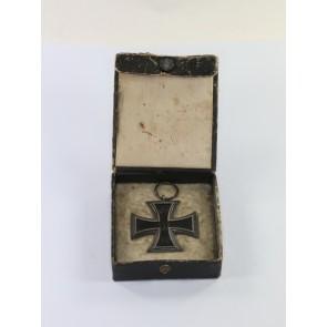 Eisernes Kreuz 2. Klasse 1914, Hst. KO, im Schmuck Etui