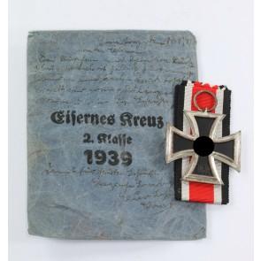 Eisernes Kreuz 2. Klasse 1939, in Verleihungstüte Walter & Henlein