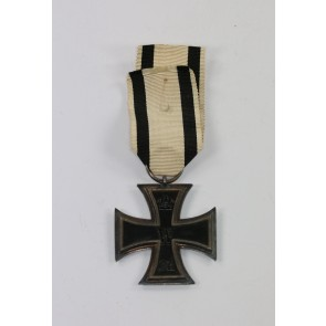 Eisernes Kreuz 2. Klasse 1914, Hst. SW, an Nichtkämpferband (!)