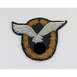 Flugzeigführer- und Beobachterabzeichen (Doppelabzeichen), gestickte Offiziersausführung