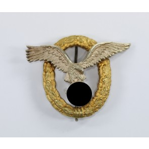 Flugzeugführer- und Beobachterabzeichen (Doppelabzeichen), Hst. C.E. Juncker (J.2)