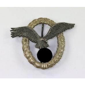 Flugzeugführerabzeichen der Luftwaffe, Hst. Juncker, 1. Modell (Ohne Ausschnitt)