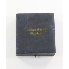 Frühes Etui Fallschirmschützen Abzeichen