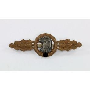 Frontflugspange für Aufklärer in Bronze, Buntmetall